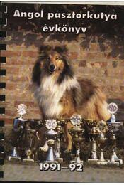 Angol pásztorkutya évkönyv 1991-92. - Régikönyvek