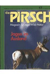 Die Pirsch 1995. August - Régikönyvek