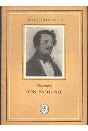 Don Pasquale - Régikönyvek