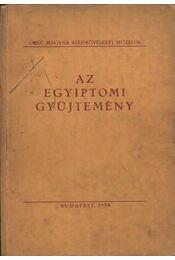 Az egyiptomi gyűjtemény - Régikönyvek