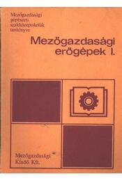 Mezőgazdasági erőgépek I. - Régikönyvek