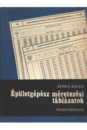 Épületgépész méretezési táblázatok - Régikönyvek