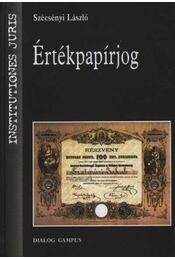 Értékpapírjog - Régikönyvek