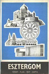Esztergom térkép - Régikönyvek