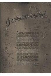 Új esőkabát-anyagok - Régikönyvek