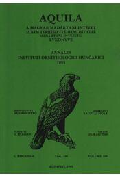 Aquila évkönyv 1993. C. évfolyam 100. sz. - Régikönyvek