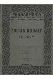 Zoltán Kodály - Régikönyvek