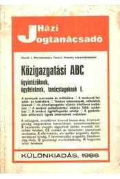 Közigazgatási ABC - Régikönyvek