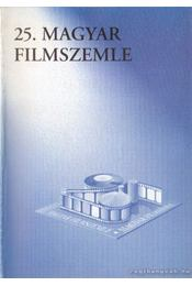 25. Magyar Filmszemle - Régikönyvek