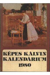 Képes Kálvin kalendárium 1980 - Régikönyvek