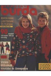 Special Burda 1990- ősz-tél - Régikönyvek