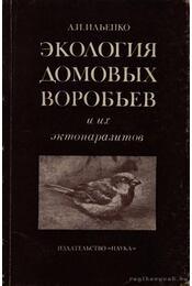 A házi verebek ökológiája és élősködőik (Экология домовых воробьев) - Régikönyvek