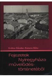 Fejezetek Nyíregyháza művelődéstörténetéből - Régikönyvek