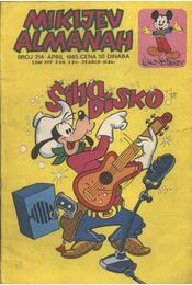 Mikijev Almanah 1985/április - Régikönyvek