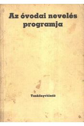 Az óvodai nevelés programja - Régikönyvek