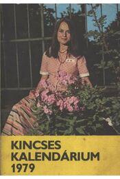 Kincsecs kalendárium 1979 - Régikönyvek