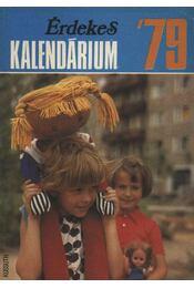 Érdekes kalendárium '79 - Régikönyvek