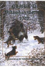 Nimród Vadászkalendárium 1992 - Régikönyvek