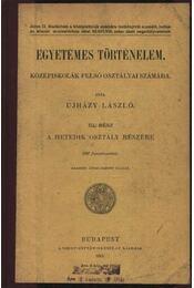 Egyetemes történelem - Régikönyvek