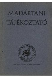 Madártani tájékoztató 1978. július-augusztus - Régikönyvek