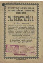 Műkedvelő színdarabok, kabarészámok, dialógok jelenetek tájékoztatója II. füzet - Régikönyvek