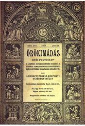 Örökimádás 1923-1924. (2évfolyam) - Régikönyvek