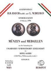 Münzen und Medaillen - Régikönyvek