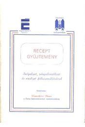 Recept gyűjtemény - Régikönyvek