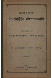 Lateinische Grammatik - Régikönyvek