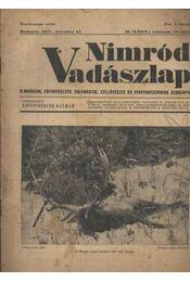 Nimród Vadászlap 1947. dec. 15. - Régikönyvek