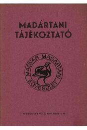 Madártani tájékoztató 1981. július-szeptember - Régikönyvek