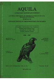 Aquila évkönyv 1986-1987. (93-94) - Régikönyvek