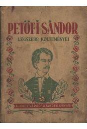 Petőfi Sándor legszebb költeményei - Régikönyvek