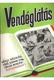 Vendéglátás IV. évfolyam 9. szám 1960. szept. - Régikönyvek