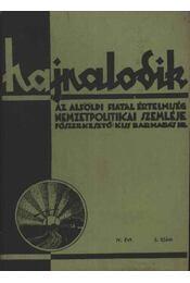 Hajnalodik - IV. évf. 5. - Régikönyvek