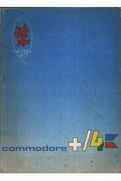 Hetedhét Commodore - Plus/4 - Régikönyvek
