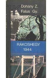 Rákoshegy 1944 - Régikönyvek
