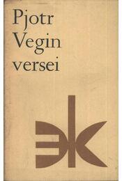 Pjotr Vegin versei - Régikönyvek