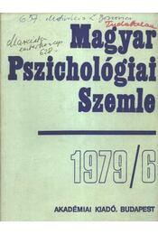 Magyar Pszichológiai Szemle 1979/6 - Régikönyvek