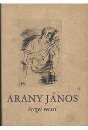 Arany János összes versei - Régikönyvek