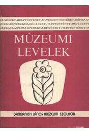 Múzeumi levelek 67-68. szám - Régikönyvek