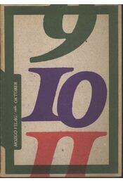 Mozgó Világ 1981/10. - Régikönyvek