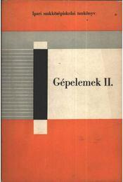 Gépelemek II - Régikönyvek