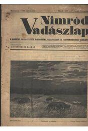 Nimród Vadászlap 1947. júl. 15. - Régikönyvek
