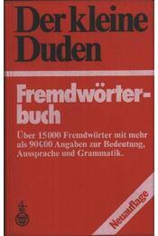 Der kleine Duden Fremdwörterbuch - Régikönyvek