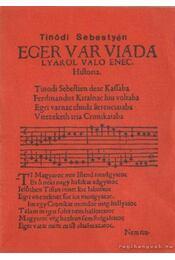 Eger vár viadaljáról való ének - Régikönyvek