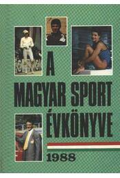 A magyar sport évkönyve 1988 - Régikönyvek