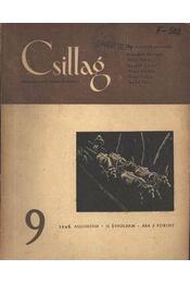 Csillag 9. 1948. augusztus II. évfolyam - Régikönyvek