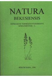 Natura Bekesiensis II. - Régikönyvek
