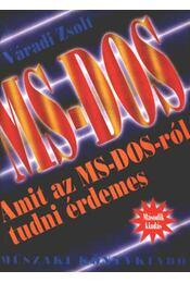 MS-DOS - Régikönyvek